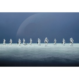 Fototapet Star Wars - Batalia de pe Scarif