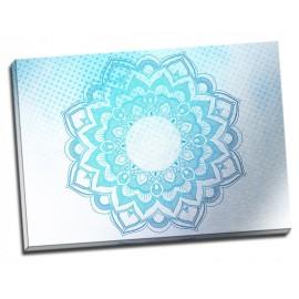 Tablou albastru Mandala