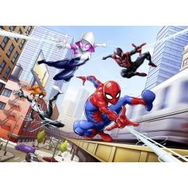 Fototapet Spiderman si prietenii