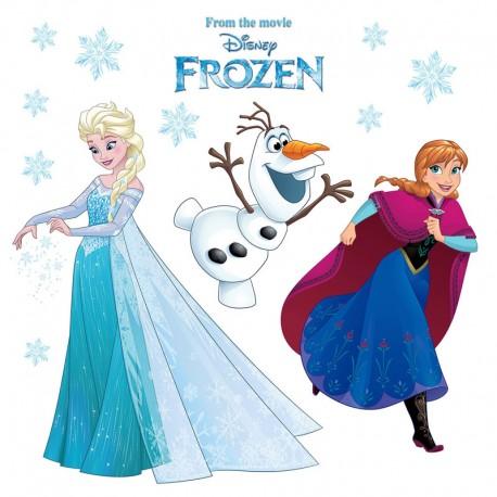 Stickere geam Frozen