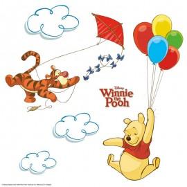 Stickere geam Winnie Pooh
