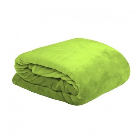 Patura pufoasa Doudou verde deschis