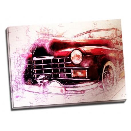 Tablou printat Old car