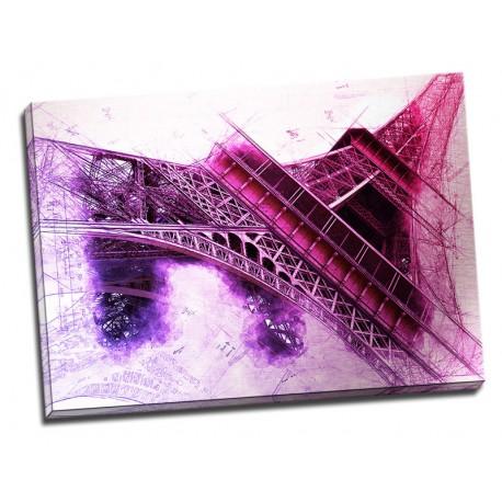 Tablou vintage Turnul Eiffel