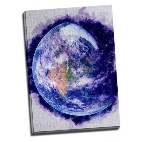 Tablou Planeta albastra