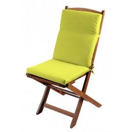 Perna scaun terasa Sunny verde