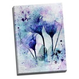 Tablouri florale - Splendoare albastra
