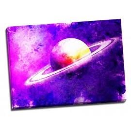 Tablou Peisaj cosmic Saturn