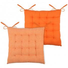 Perna scaun Ikati orange chevron