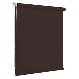 Rolete textile 64x160 cm maro Blackout