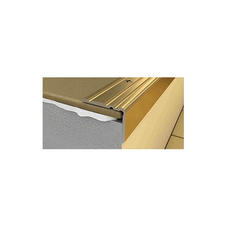 Profil treapta antiderapant PS2 25x20mm din aluminiu