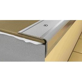 Profil treapta antiderapant PS4 40x27mm din aluminiu