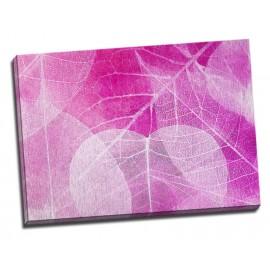 Tablou roz Frunze stravezii