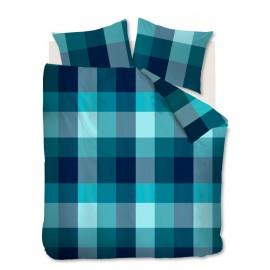 Lenjerie pentru pat tineret verde-albastru