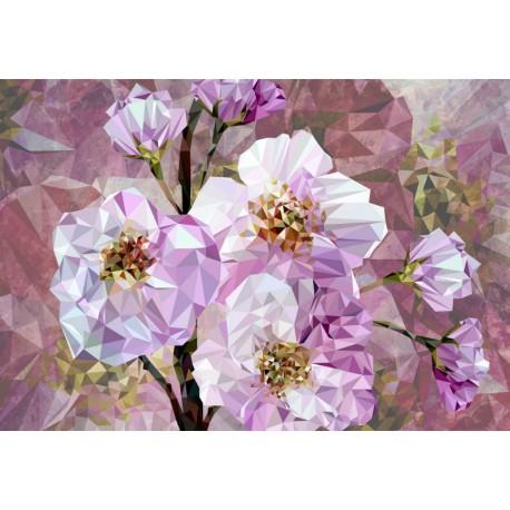 Fototapet modern Flori de cristal