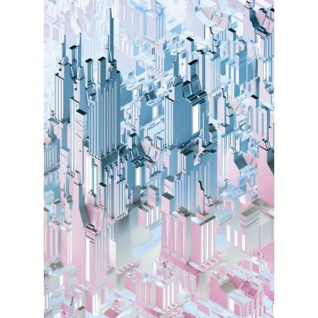 Fototapet abstract New York