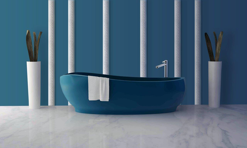 Amenajare baie cu profile ST