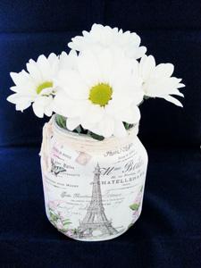 Paris Shabby Jar