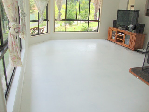 How And Why We Use Decorative Paint For Concrete Floor